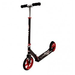 Nijdam Scooter LOW CRUISER Black/Metallic Red /Silver