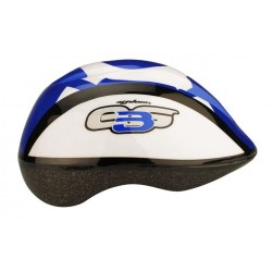 Nijdam Kids blue white helmet