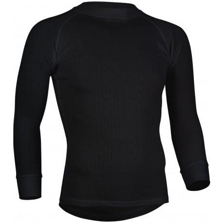 Ισοθερμική Αντρική Μακρυμάνικη Μπλούζα Μαυρη