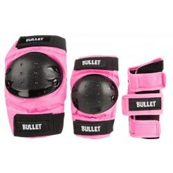 Προστατευτικα Bullet Παιδικά Ροζ-Μαυρο