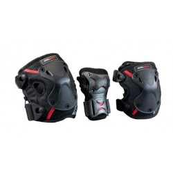 Seba protective pack x 3 PRO (wrist, knee zip & elbow)