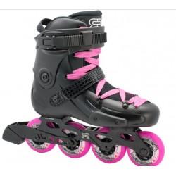 FR skates FRW 80 - BLACK & PIN