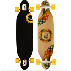 "Nijdam LONGBOARD 38"" DROP-THROUGH CRISS CROSS"