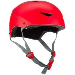 Nijdam Skate Helmet Κράνος Ενηλίκων κόκκινο
