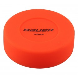 Bauer floor hockey puck orange