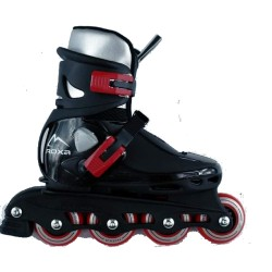 Roxa Beetle Inline Skate Junior Μαυρα