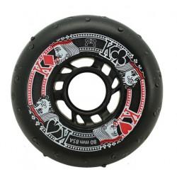 FR Street Kings Sparkling Wheel 80mm/85A Μαύρες