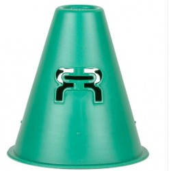 FR slalom cones light forest green pack 20