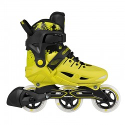 Powerslide PHUZION YELLOW INLINE kids SKATES