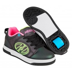 Heelys Voyager reflective Μαύρο παπούτσια με ροδάκια