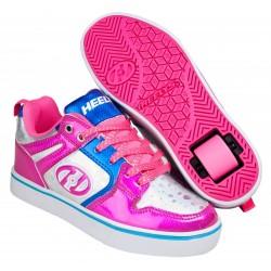 Heelys Motion Pink/Silver/Aqua παπούτσια με ροδάκια