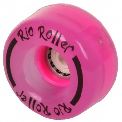 Rio Roller Light Up Quad Skate Ρόδες 54mm 82A ροζ x4