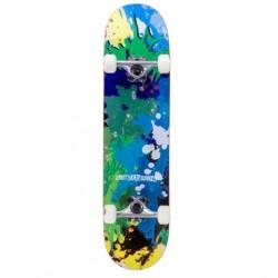 Enuff SPLAT Skateboard Green/Blu