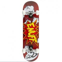 ENUFF POW complete skate κόκκινο 7.75