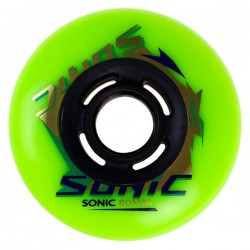 GYRO wheel sonic 80mm 86A pack 8 green