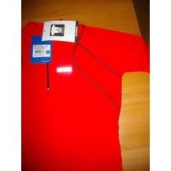 SHIMANO JERSEY μπλουζάκι για ποδηλασία κόκκινο