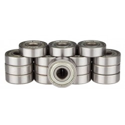 NIJDAM BALL BEARINGS CHROME ABEC 7 pack 16