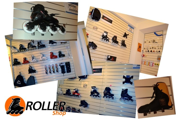rollershop collage